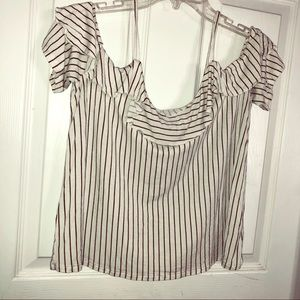 American Eagle off the shoulder blouse.